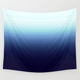 Nautical Blue Ombre Wall Tapestry