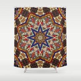 Medieval Kaleidoscope 3 Shower Curtain