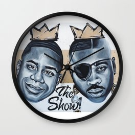 Kings of New York Wall Clock