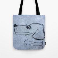 georgia Tote Bags featuring georgia by Art By Anne Manera