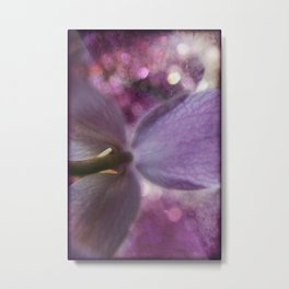 Purple Elephant Metal Print