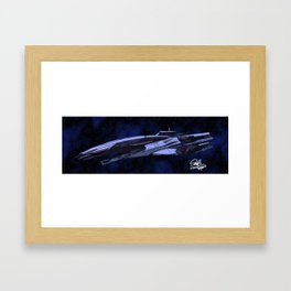 SSV Normandy Framed Art Print