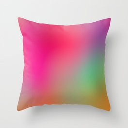 Color Study 01 Throw Pillow