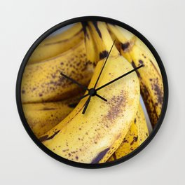 Fruit Study No. 1: As The Banana Turns Wall Clock