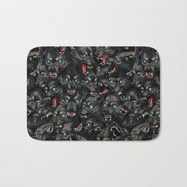 Wolf Pack Pattern Bath Mat