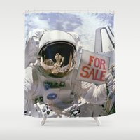 sale Shower Curtains featuring For Sale by [£13]