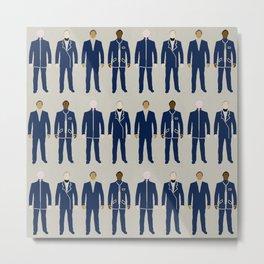 Very Mod Squad; Bauhaus Movement Metal Print