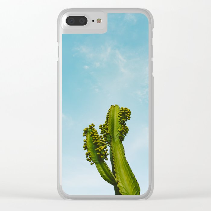 Reach for the Sky II Clear iPhone Case