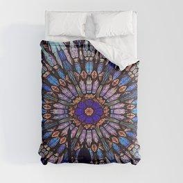 Colorful Sacred Geometry Mandala Pattern Comforters