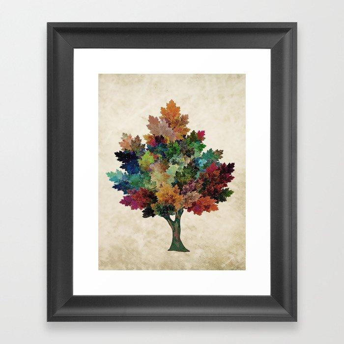 Fall is Back! Framed Art Print
