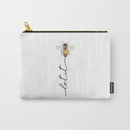 let it bee, let it bee...  Carry-All Pouch
