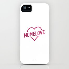 Pink Mome Love iPhone Case