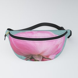 Shy Pink Rose Fanny Pack