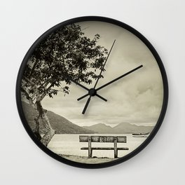 Lagoon Memories Wall Clock