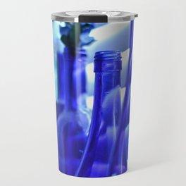 Blue Bottles - 1 Travel Mug