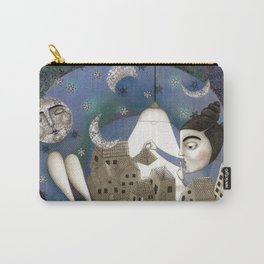 Go to Sleep, Says the Night Carry-All Pouch