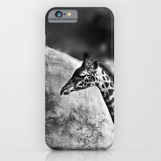 Whiteout - Giraffe iPhone & iPod Case