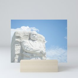 Martin Luther King Statue Mini Art Print