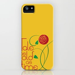 As old as time iPhone Case