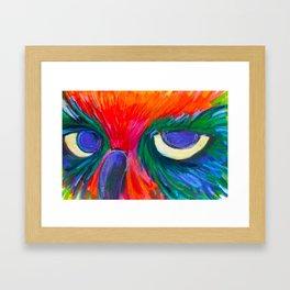 Sassy Owl Framed Art Print