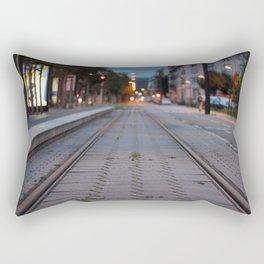 Strasbourg - Tramway Rectangular Pillow