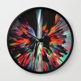 Split Minded Wall Clock