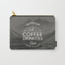 Outdoor Coffee Drinkers Club Carry-All Pouch