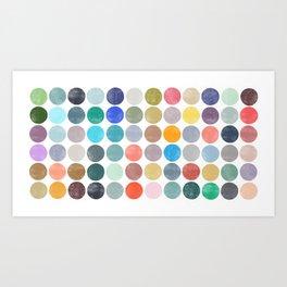 colorplay 19 Art Print