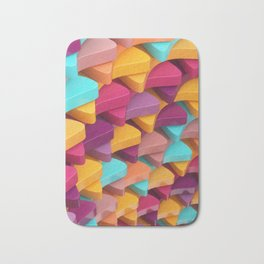 Colourful Pieces Bath Mat
