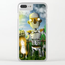 The Groundskeeper Clear iPhone Case