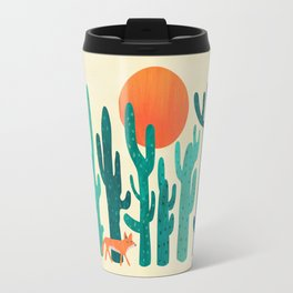 Desert fox Travel Mug