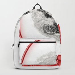 seal for people who like seals  Backpack