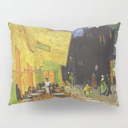 CAFE TERRACE AT NIGHT - VINCENT VAN GOGH Pillow Sham