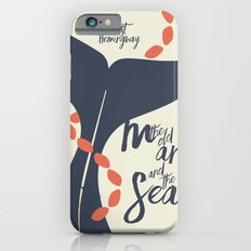 the Old Man and The Sea - Hemingway Book Cover Illustration Slim Case iPhone 6s
