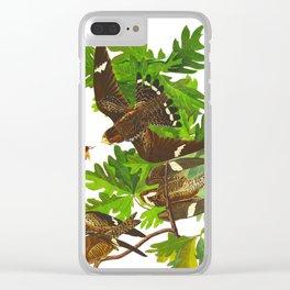 Night Hawk Clear iPhone Case