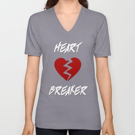 Heart Breaker Unisex V-Neck