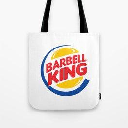 Barbell King Tote Bag
