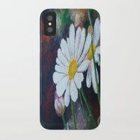 daisies iPhone & iPod Cases featuring Daisies  by ANoelleJay