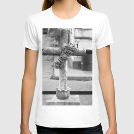 old cross T-shirt