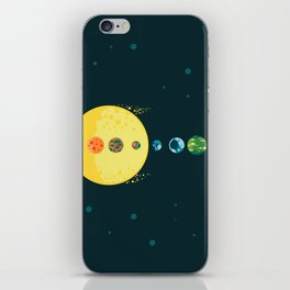Trappist System iPhone Skin