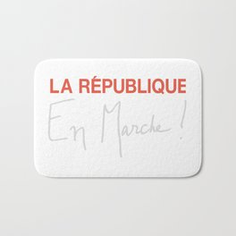 La Republique En Marche! For Dark Colors Bath Mat