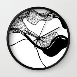 GEOMETRY IS FUN Wall Clock