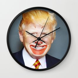 McDonald Trump Wall Clock