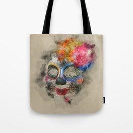 Watercolour Mask Tote Bag