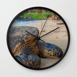 resort life Wall Clock