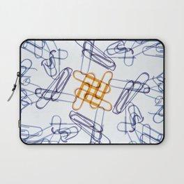 Kaleidoscope -Paper Clips Laptop Sleeve