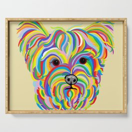 Yorkshire Terrier - YORKIE! Serving Tray