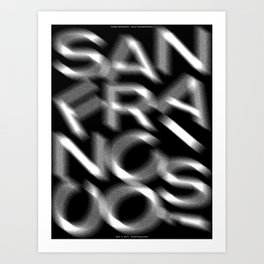 San Francisco(s): Earthquakes (May 4, 2017) Art Print
