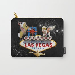 Las Vegas Welcome Sign Carry-All Pouch