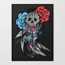 Devil May Cry Design Canvas Print